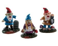 Lemax - 82569 (281) - Zombie Garden Gnomes, Spooky-Town, Halloween