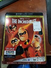 Disney Incredibles 4K Uhd with blueray
