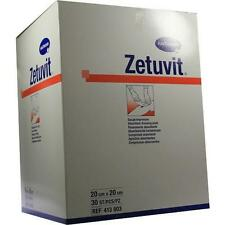 ZETUVIT Saugkompresse unsteril 20x20cm 30St Kompressen PZN 1981661