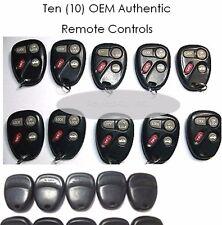 Lot 10: 10246215 Factory OEM Key FOB Keyless Entry Remote Alarm Clicker Beeper