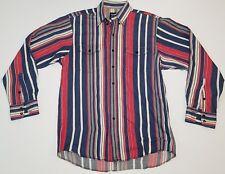 VTG Wrangler Cowboy Western Rockabilly Shirt X-Long Tails Mens 16x34 colorblock