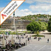 Städtereise Stuttgart A&O Hotel für 2 Personen Gutschein Frühstück 2 bis 4 Tage
