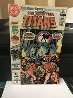 New Teen Titans 21 - 1ST APPEARANCE BROTHER BLOOD - PEREZ NM-HIGH GRADE