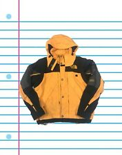 Vintage 90s The North Face Extreme Gear Yellow and Black Ski Jacket. Size Large