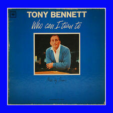 "Tony Bennett Record ""Who Can I Turn To"" Columbia Marcas Reg. CL 2285 Mono"