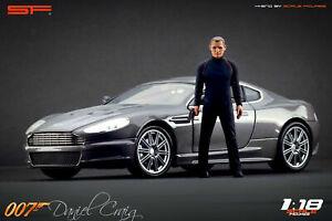 1/18 Damiel CRAIG James Bond 007 von SF Scale Figures für CMC Autoart Exoto