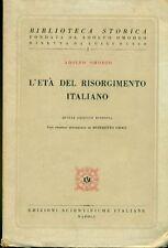 OMODEO Adolfo, L'età del Risorgimento italiano