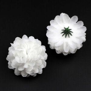 10-100Pc Artificial Silk Daisy Flower Heads Bulk Hydrangea Fake flower DIY Craft
