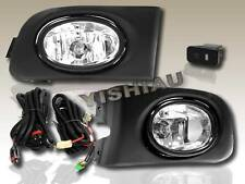 2001-2003 HONDA CIVIC 2DR COUPE 4DR SEDAN FOG LIGHTS+SWITCH+HARNESS LIGHT CLEAR