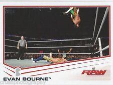 Evan Bourne 2013 WWE Topps Triple Threat Trading Card #14