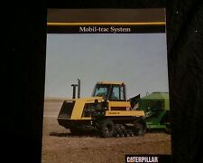 Caterpillar Challenger 65 Mobil Trac, Agricultural Tractor  SALES BROCHURE