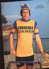 JOSEPH BORGUET Cyclisme cp 70s IJSBOERKE COLNER Cycling ciclismo wielrennen vélo