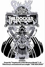 Thin Lizzy The Rocker Poster Art 33x23 Print By Jim Fitzpatrick. Album Cover Art
