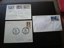 FRANCE - 3 enveloppes 1963 (cy66) french