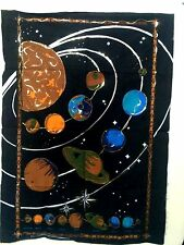 Tapestry Wall Hanging Throw Poster Flag indian 40*30 solar system sky sun planet