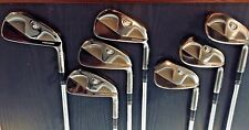 TaylorMade RAC MB TP Smoke Blades Iron Set 4-PW Rifle 6.0 Stiff Flex Steel RH