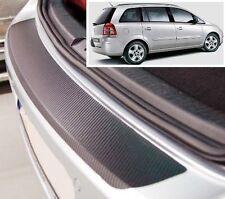 Vauxhall- Opel Zafira MK2 - Carbon Style rear Bumper Protector