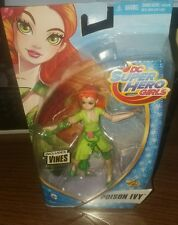 DC SUPER HERO GIRLS POISON IVY 6 inch ACTION FIGURE new in box Target