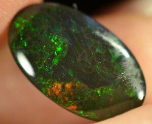 Black Opal Australian Natural Solid 3.30 ct double sided multi-colour gemstone