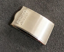 Genuine Seiko Japan Stainless Steel Mens Watch Clasp 16mm - New old stock