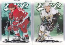03-04 UD MVP Sergei Federov /150 Silver Script  Red Wings 2003