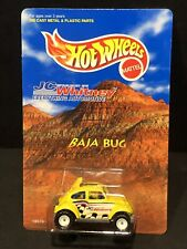 Hot Wheels VW BAJA BUG 1997 J C Whitney Special Volkswagen with Case. Minty!
