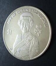 More details for 2012 virgin islands life of queen elizabeth ii diamond jubilee $1 crown coin bu