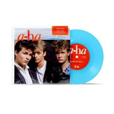 "A-HA TAKE ON ME LIMITED EDITION BLUE VINYL 7"" SPECIAL EDITION SIDE B UNRELEASED"