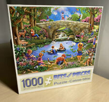 """Mary Thompson 'End Of Summer' 1000 Piece Jigsaw Puzzle 27""""x20"""" Bits And Pieces"""