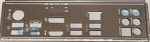ASUS I/O IO SHIELD BLENDE BRACKET PRIME Z390-A, PRIME Z390-A/H10