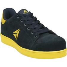 Size UK 8 EU 42 Delta Plus Smash Navy Blue Suede Safety Work Trainers Shoes New