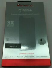 ZAGG Invisible Shield Glass+ Screen Protector for Apple iPhone X