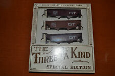 Trainset #063 - Three of a Kind Special Edition - Hopper Cars - HO Scale
