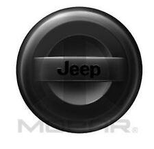 07-17 Jeep Wrangler Black Hard Surface Tire Cover P255/70R18 Factory Mopar New