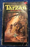 Tarzan of the Apes, #1, Edgar Rice Burroughs, Ballantine, 1976, Neal Adams cover