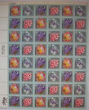 1974 10¢ United States Mineral Heritage Stamp Sheet of 48 Scott #1538-41 MNH OG