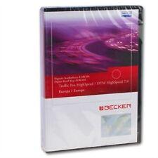 Becker Traffic Pro High Speed 7.0 Europa Navigazione Navi Update CD Be 7822 7823