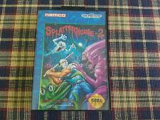 Splatterhouse 2 - Authentic - Sega Genesis - Case / Box Only!