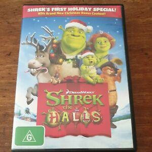 Shrek the Halls DVD R4 Like New! FREE POST
