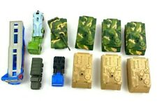 Lot Of Maisto Diecast Tanks And Other Vehicles