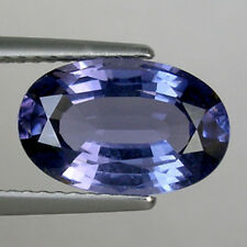 3.24 ct  LUSTROUS  RARE NICE PURPLE  BLUE NATURAL SPINEL  OVAL _ 661  JB