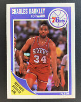 1989 Fleer Charles Barkley #113 Basketball Card Philadelphia 76ers