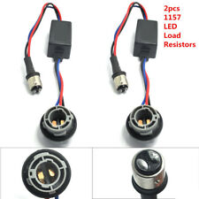 2pcs 1157 LED Decoder Light Bulb Warning Canceller Canbus No Error Load Resistor