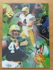 1996 COLLECTORS EDGE ADVANTAGE VIDEO #/2000 BRETT FAVRE GREEN BAY PACKERS HOF
