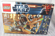 Lego 9491 Geonosian Cannon STAR WARS retired 132 pc set 7-12 factory sealed box