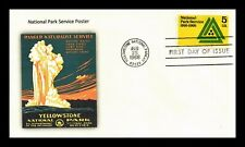 US COVER NATIONAL PARK SERVICE 50TH ANNIVERSARY FDC ADD ON CACHET