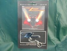 Vintage NOS ZZ TOP Official Key Chain