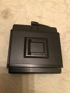 Mamiya RB67 Cartridge/Magazine 120  Roll Film Holder Back Mint Inside And Out.