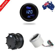 Digital Oil Pressure Meter Gauge with Sensor for Car 52mm 2in LCD Warning Light