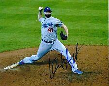 Chris Hatcher Los Angeles Dodgers Autographed 8x10 Photo